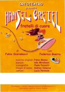 Manifesto Hansel e Gretel PICCOLO